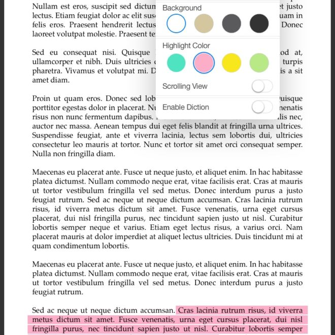 13-eReader with highlight