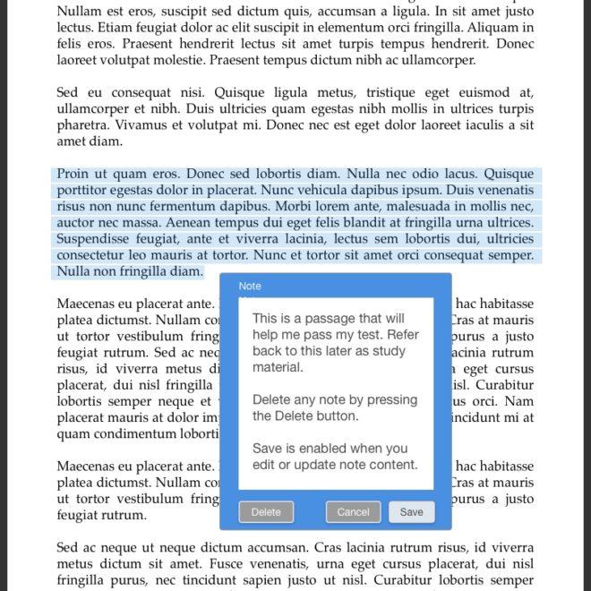 21-eReader highlight plus note