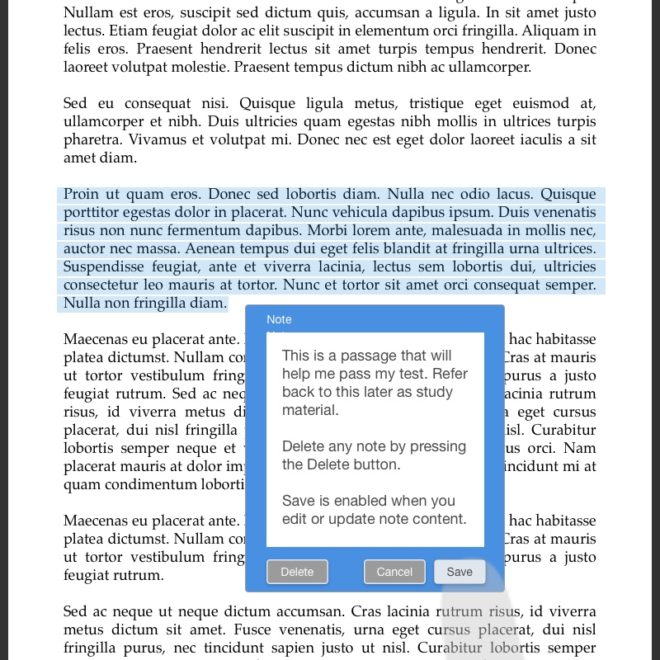 21-eReader highlight plus note