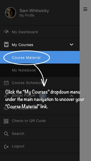 04-Course Material Navigation