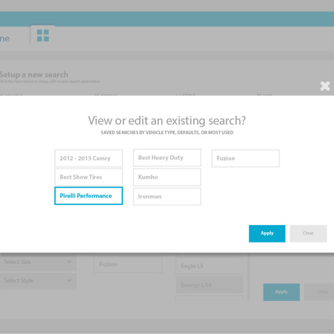 06.View or edit and existing search