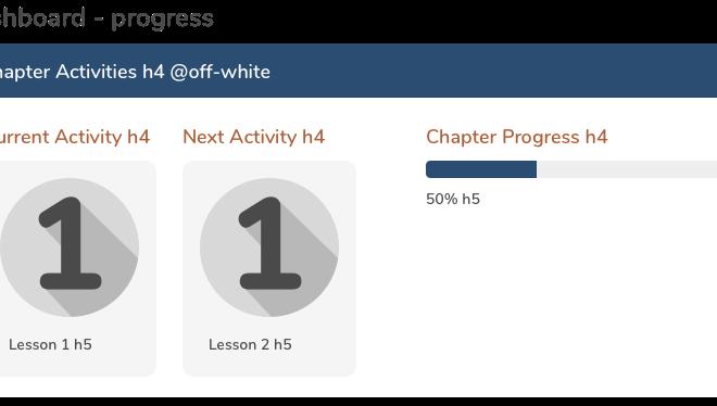 Dashboard- progress
