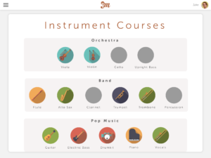 Practicing Musician - Instrument Courses