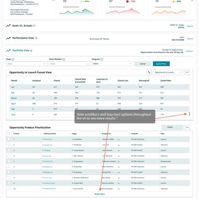 16-AM Performance Hub - Portfolio View-Selling Partner Collapsed